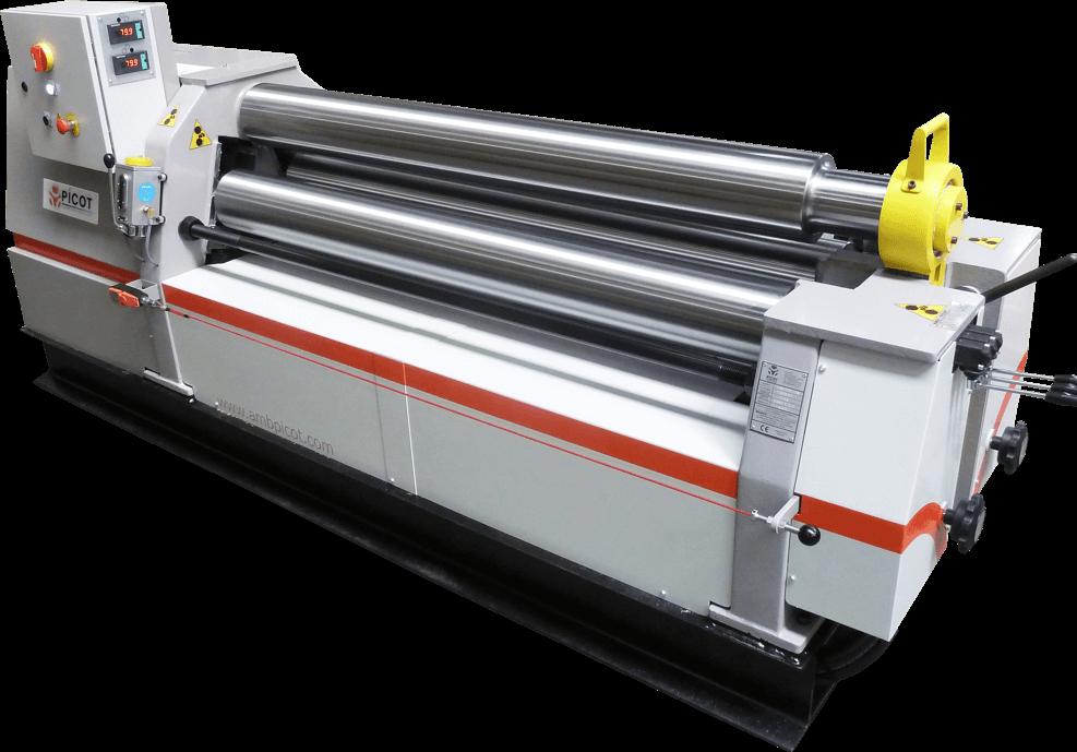 3 Roll Plate Bending Machine 3 Roller Symmetrical