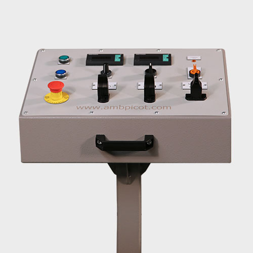 Plate Roll Bending Machine Control Console